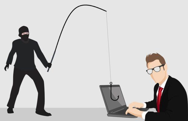 Kradzież danych osobowych – phishing